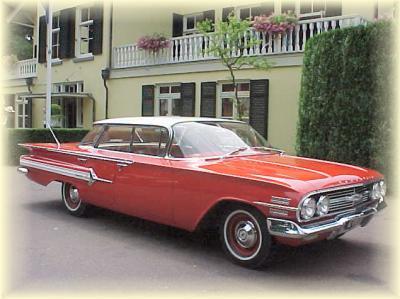 Oldtimerverhuur Nl Chevrolet Impala 1960